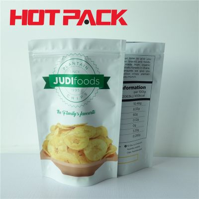 Customized printing food packaging bag chips stand up pouches